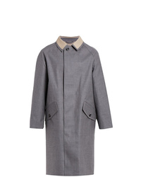 MACKINTOSH Grey Bonded Wool Coat