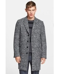 Paul Smith Ps Boucle Knit Wool Blend Overcoat
