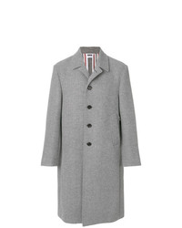 Thom Browne Relaxed Bal Collar Overcoat