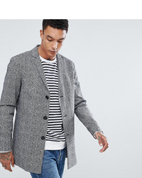 Noak Salt N Pepper Jacquard Coat