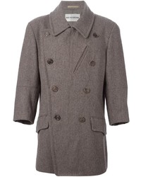 Vintage double breasted coat medium 337006