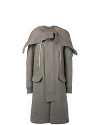 Rick Owens Zipped Hood Coat