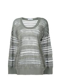 Christian Wijnants Panelled Oversized Sweater