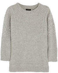 J.Crew Ribbed Knit Alpaca Blend Sweater