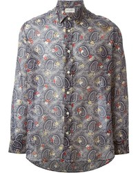 Paisley print shirt medium 184432
