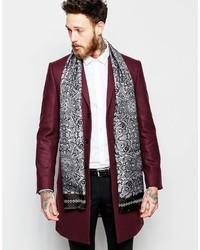 Noose monkey noose monkey italian silk dress scarf in paisley medium 388467