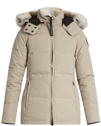 Canada Goose Chelsea Fur Trimmed Down Parka