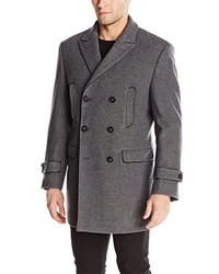 Calvin Klein Medwin Double Breasted Peacoat