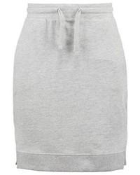 Jrfrille pencil skirt light grey melange medium 3905028