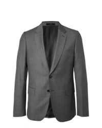 Paul Smith Grey Soho Slim Fit Puppytooth Wool Suit Jacket