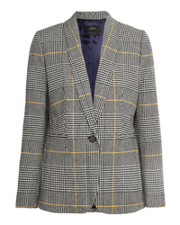 J.Crew Parke Prince Of Wales Checked Tweed Blazer