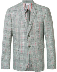 Thom Browne Plaid Blazer
