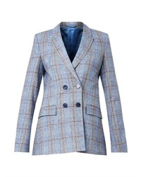 Richard Nicoll Checked Double Breasted Blazer