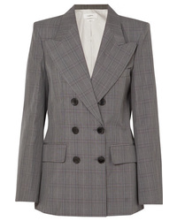 Isabel Marant Etoile Iliane Checked Cotton Blend Blazer