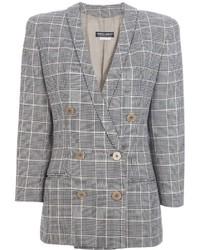 Giorgio Armani Vintage Checked Jacket