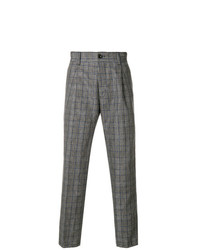 Pt01 Classic Checked Trousers