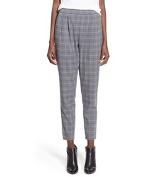 Pleat front glen plaid pants medium 420938