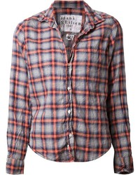 Frank eileen checked shirt medium 218726