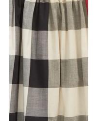 Burberry Ariadne Check Woven Dress