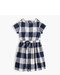J.Crew Girls Buffalo Plaid Dress