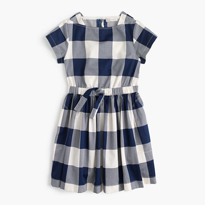 J.Crew Girls Buffalo Plaid Dress
