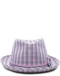 Comme des Garcons Shirt Cotton Check Hat