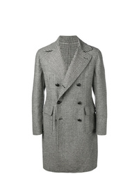 Tagliatore Glen Plaid Midi Coat