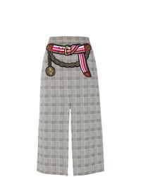 Marco De Vincenzo Prince Of Wales Midi Skirt