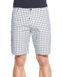 Classic fit check bermuda shorts medium 607616