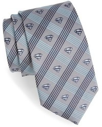 Cufflinks inc superman plaid silk tie medium 397296