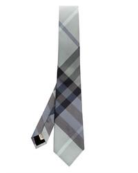 Burberry London Rohan Heritage Check Silk Tie