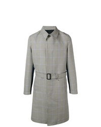 Alexander McQueen Piedpoulle Trench Coat
