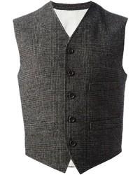 Plaid waistcoat medium 19025