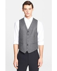 John Varvatos Star Usa Plaid Vest