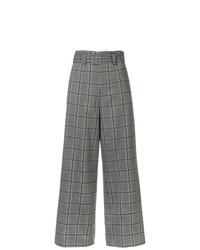 G.V.G.V. Plaid Wide Leg Trousers