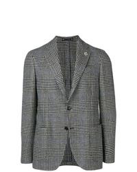 Lardini Check Pattern Blazer