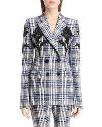 Embellished celtic check jacket medium 1249580