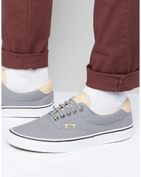 Vans Era 59 Sneakers In Gray Va38fsmn6