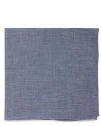 Chambray cotton pocket square medium 436522