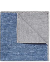 Brunello Cucinelli Silk And Cotton Blend Pocket Square