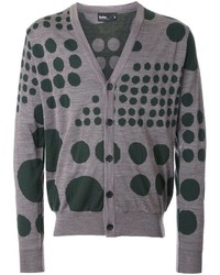 Kolor Dot Pattern Cardigan