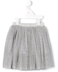 Grey Polka Dot Skirt
