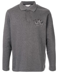 Gieves & Hawkes Long Sleeved Polo Shirt