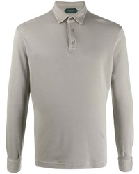 Zanone Long Sleeved Polo Shirt