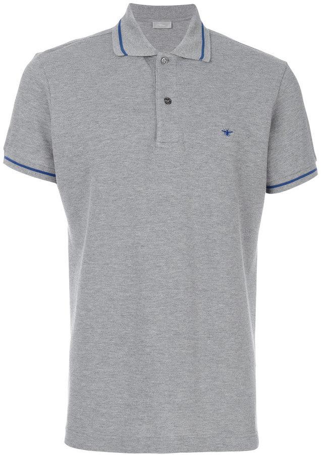 b2f7482d3 Christian Dior Dior Homme Classic Polo Shirt, £241 | farfetch.com ...