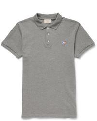 MAISON KITSUNÉ Maison Kitsun Slim Fit Cotton Piqu Polo Shirt
