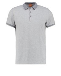 Hugo Boss Pejo Polo Shirt Light Grey