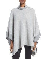 Eileen Fisher Cashmere Lambswool Poncho