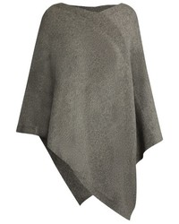 V neck cashmere poncho medium 738776