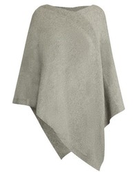 V neck cashmere poncho medium 738874
